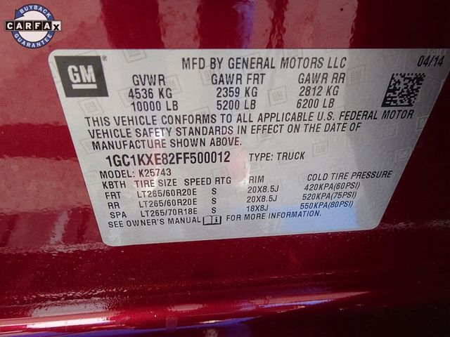 2015 Chevrolet Silverado 2500HD Built After Aug 14 High Country Madison, NC 54