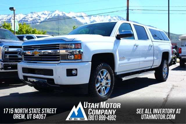 2015 Chevrolet Silverado 2500HD Built After Aug 14 High Country | Orem, Utah | Utah Motor Company in  Utah
