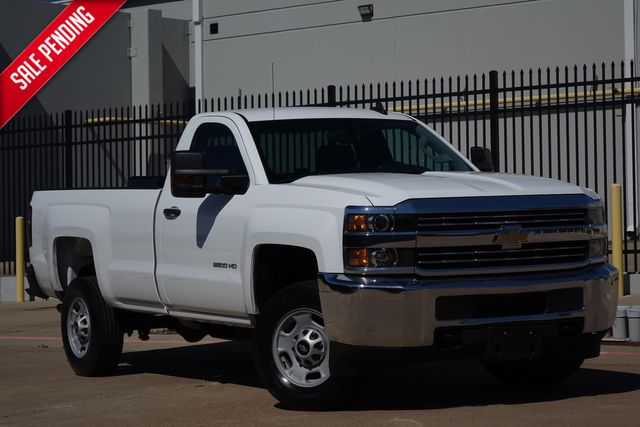 2015 Chevrolet Silverado 2500HD Built After Aug 14 Work Truck* Leather* BU Cam* EZ Finance** | Plano, TX | Carrick's Autos in Plano TX