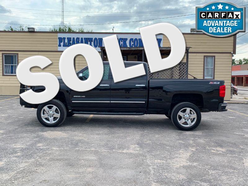 2015 Chevrolet Silverado 2500HD Built After Aug 14 LTZ | Pleasanton, TX | Pleasanton Truck Company in Pleasanton TX