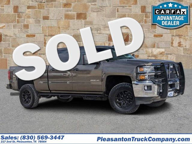 2015 Chevrolet Silverado 2500HD Built After Aug 14 LT | Pleasanton, TX | Pleasanton Truck Company in Pleasanton TX