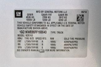 2015 Chevrolet Silverado 2500 HD LTZ Crew Cab 4X4 Z71 6.6L Duramax Diesel Allison Auto LIFTED LOADED Sealy, Texas 83