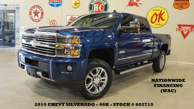 2015 Chevrolet Silverado 2500HD High Country 4X4 ROOF,NAV,REAR DVD,46K