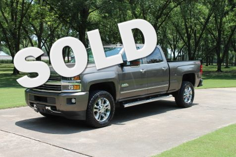 2015 Chevrolet Silverado 2500HD Crew Cab 4WD High Country W/Duramax Diesel in Marion, Arkansas