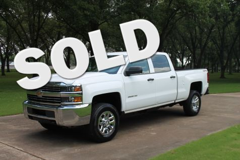 2015 Chevrolet Silverado 2500HD Crew Cab 4WD  in Marion, Arkansas