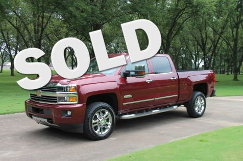 2015 Chevrolet Silverado 2500HD Crew Cab 4WD High Country Duramax in Marion, Arkansas