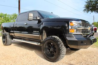 2015 Chevrolet Silverado 2500HD LTZ Crew 4x4 6.6L Duramax Diesel Allison Auto Lifted in Sealy, Texas 77474