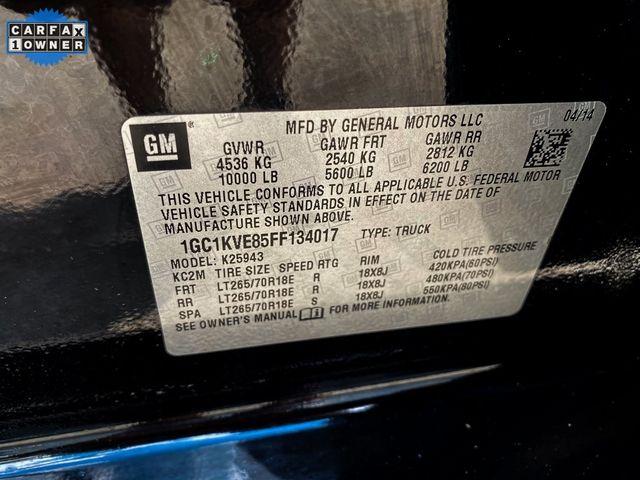 2015 Chevrolet Silverado 2500HD LT Madison, NC 38