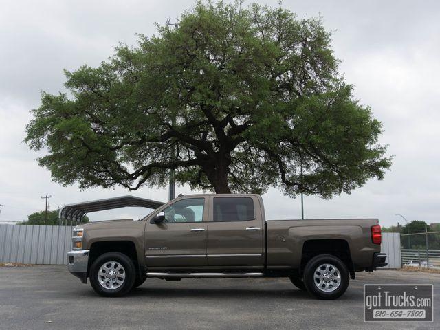 2015 Chevrolet Silverado 2500HD Crew Cab LTZ 6.0L V8