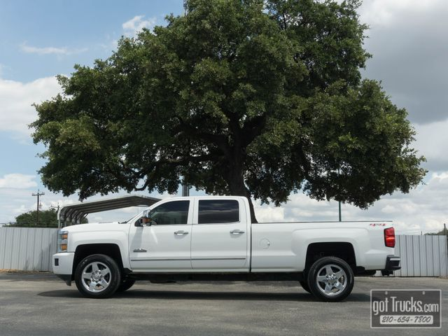 2015 Chevrolet Silverado 2500HD Crew Cab High Country 6.6L Duramax Diesel 4X4