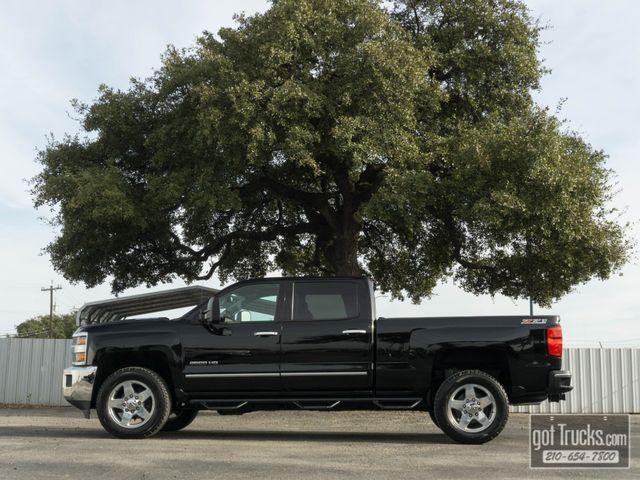 2015 Chevrolet Silverado 2500HD Crew Cab LTZ Z71 6.6L Duramax Turbo Diesel 4X4