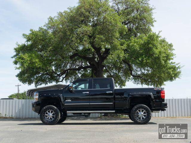 2015 Chevrolet Silverado 2500HD Crew Cab High Country 6.6L Duramax Diesel 4X4