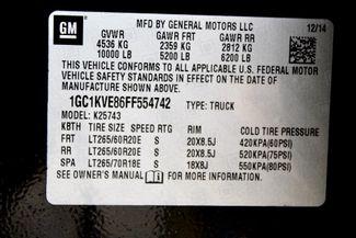 2015 Chevrolet Silverado 2500HD LT Crew 4x4 6.6L Duramax Diesel Auto LIFTED SEMA Sealy, Texas 84