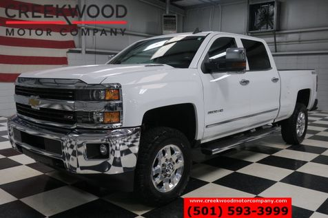 2015 Chevrolet Silverado 2500HD LTZ 4x4 Diesel White Leather Nav Chrome 1 Owner in Searcy, AR