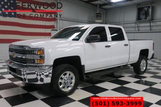 2015 Chevrolet Silverado 2500HD WT LT 4x4 Diesel Allison White Chrome 18s 1 Owner in Searcy, AR 72143