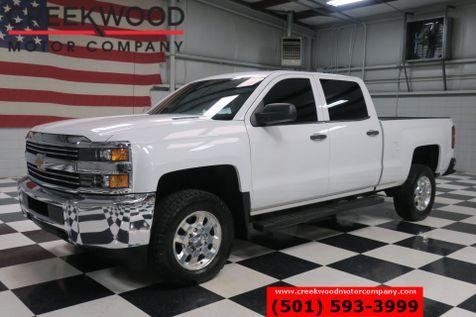 2015 Chevrolet Silverado 2500HD WT LT 4x4 Diesel Allison White Chrome 18s 1 Owner in Searcy, AR