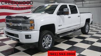 2015 Chevrolet Silverado 2500HD High Country 4x4 Diesel White Nav New Tires 1Owner in Searcy, AR 72143