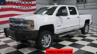 2015 Chevrolet Silverado 2500HD High Country 4x4 Diesel White 1 Owner Nav Roof 20s in Searcy, AR 72143