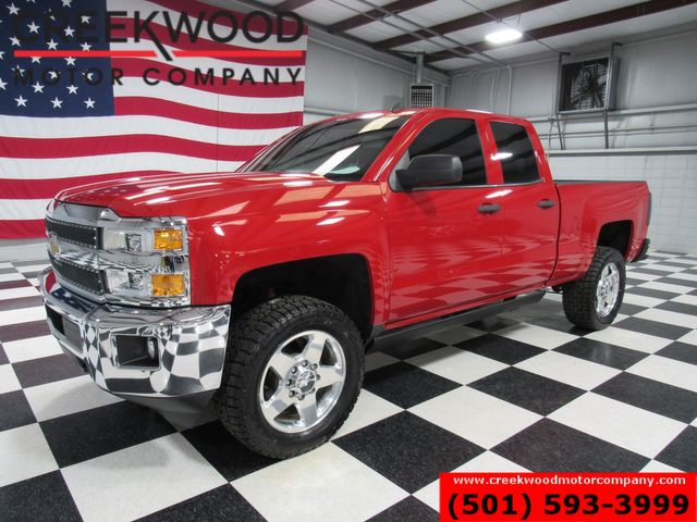 2015 Chevrolet Silverado 2500HD LT 4x4 Z71 Diesel Allison Red Chrome 20s New Tires in Searcy, AR 72143