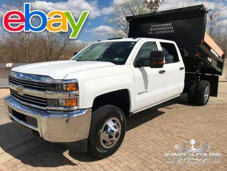 2015 Chevrolet Silverado 3500 CREW 4X4 1-OWNER MASON DUMP 32K MILES 6.0L V8 in Woodbury, New Jersey 08096