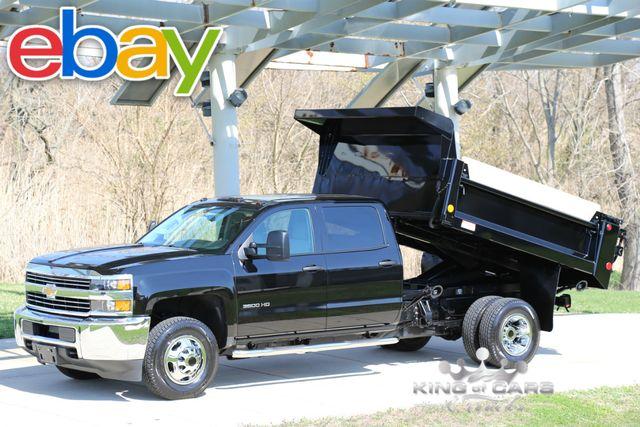 2015 Chevrolet Silverado 3500 CREW MASON DUMP 6.0L V8 461 MILES 4X4