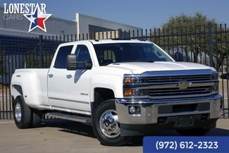 2015 Chevrolet Silverado 3500 LTZ Driver Alert 4x4 Leather Air Ride in Plano Texas, 75093