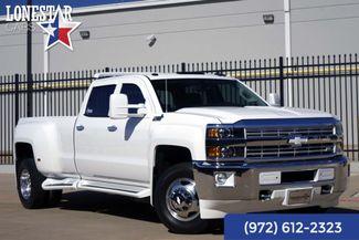 2015 Chevrolet Silverado 3500 LTZ 1 Owner Clean Carfax Western Hauler Warranty in Plano Texas, 75093
