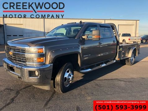 2015 Chevrolet Silverado 3500HD LT 4x4 Diesel Dually Utility Flatbed Leather Nav in Searcy, AR