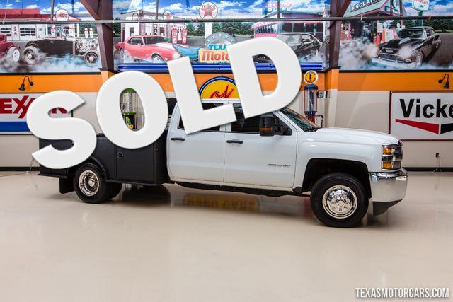 2015 Chevrolet Silverado 3500HD Flatbed 4x4
