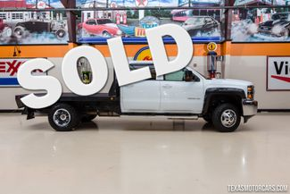 2015 Chevrolet Silverado 3500HD LT 4X4 Dually Flatbed in Addison Texas, 75001