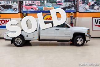 2015 Chevrolet Silverado 3500HD LTZ 4X4 Flatbed Dually in Addison, Texas 75001