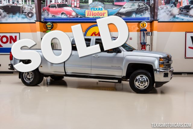 2015 Chevrolet Silverado 3500HD Built After Aug 14 LT 4X4 Dually