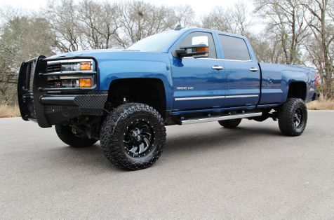 2015 Chevrolet Silverado 3500HD  LTZ - 1 OWNER - LIFTED - 4X4 in Liberty Hill , TX