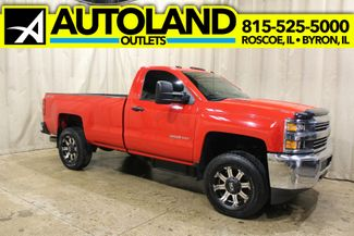 2015 Chevrolet Silverado 3500HD long bed 4x4 diesel Work Truck in Roscoe, IL 61073