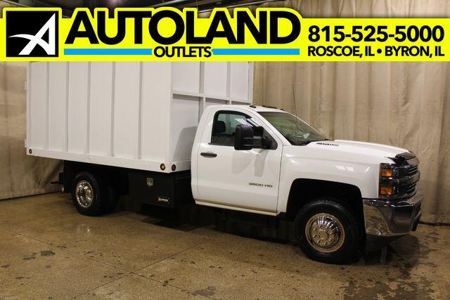 2015 Chevrolet Silverado 3500HD Covered Dump 4x4 Diesel Work Truck