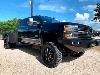 2015 Chevrolet Silverado 3500HD High Country Crew Cab 4X4 6.6L Duramax Diesel Allison Lifted Dually in Sealy, Texas 77474
