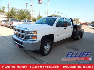 2015 Chevrolet Silverado 3500HD FLAT BED Work Truck in Harlingen, TX 78550