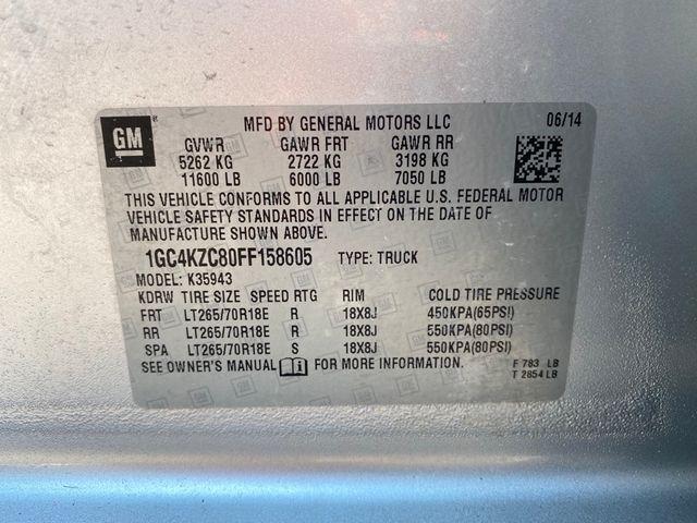 2015 Chevrolet Silverado 3500HD LT Madison, NC 44