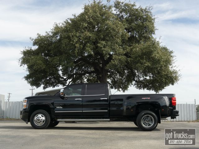 2015 Chevrolet Silverado 3500HD Crew Cab High Country 6.6L Duramax Diesel 4X4