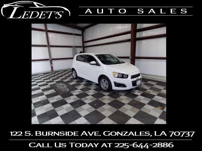 2015 Chevrolet Sonic LT - Ledet's Auto Sales Gonzales_state_zip in Gonzales Louisiana