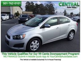 2015 Chevrolet Sonic LS   Hot Springs, AR   Central Auto Sales in Hot Springs AR