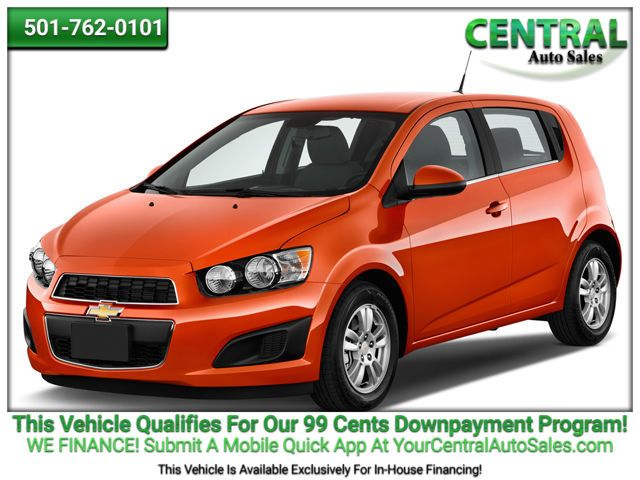 2015 Chevrolet Sonic LT   Hot Springs, AR   Central Auto Sales in Hot Springs AR