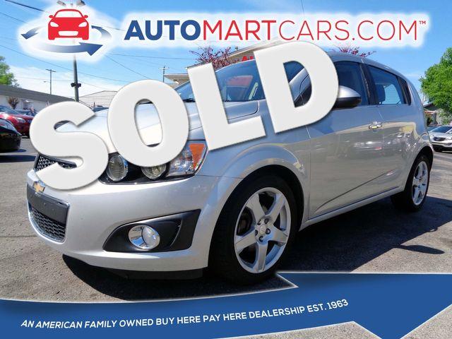 2015 Chevrolet Sonic LTZ | Nashville, Tennessee | Auto Mart Used Cars Inc. in Nashville Tennessee