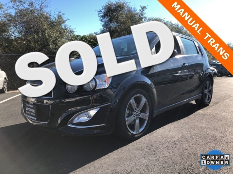 2015 Chevrolet Sonic RS   San Luis Obispo, CA   Auto Park Sales & Service in San Luis Obispo CA