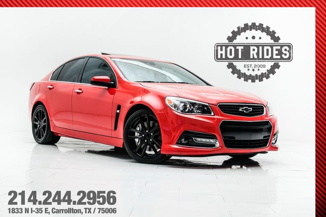 2015 Chevrolet SS Sedan Supercharged 6-Speed