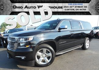 2015 Chevrolet Suburban LTZ 4x4 Navi Sunroof 3rd Row We Finance | Canton, Ohio | Ohio Auto Warehouse LLC in Canton Ohio