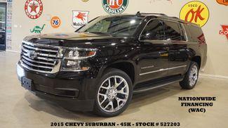 2015 Chevrolet Suburban LT ROOF,NAV,REAR DVD,HTD LTH,CHROME 22'S,45K in Carrollton TX, 75006