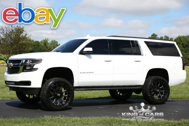 2015 Chevrolet Suburban Lt LIFTED 42K ORIGINAL MILES 1-OWNER 4X4 SUV