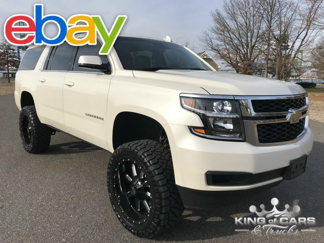 2015 Chevrolet Suburban Lt LIFTED 48K ORIGINAL MILES 1-OWNER 4X4 in Woodbury New Jersey, 08096