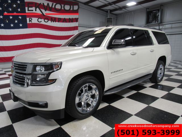 2015 Chevrolet Suburban LTZ 4x4 White Nav Sunroof Tv Dvd Chrome 20s CLEAN in Searcy, AR 72143